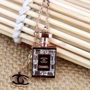 Chanel bottle necklace